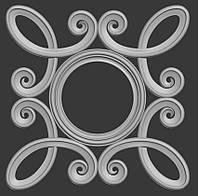 Модель  рамы для круглого зеркала, фото 1
