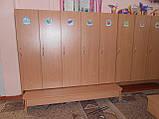 Шкафы и лавочки для детского сада, фото 4