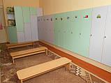 Шкафы и лавочки для детского сада, фото 3