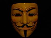 Маска Гая Фокса Кремовая V Вендетта  Анонимуса, фото 1