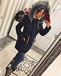 Зимняя женская стильная парка с мехом и капюшоном (6 цветов), фото 7