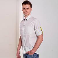 Рубашка мужская классическая х/б