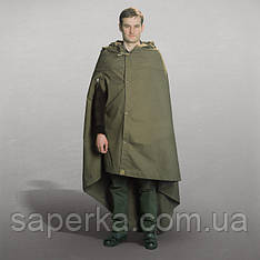 Плащ-палатка солдатская  СССР. Кожаные кольца
