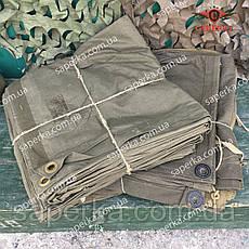 Плащ-палатка СССР кожаные кольца , фото 3