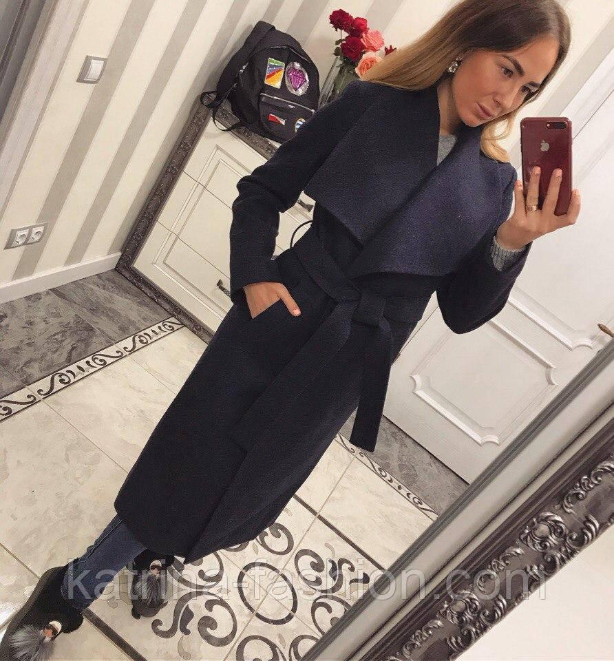 15a9e7519ec Женское модное зимнее пальто с запахом и поясом (4 цвета)  продажа ...