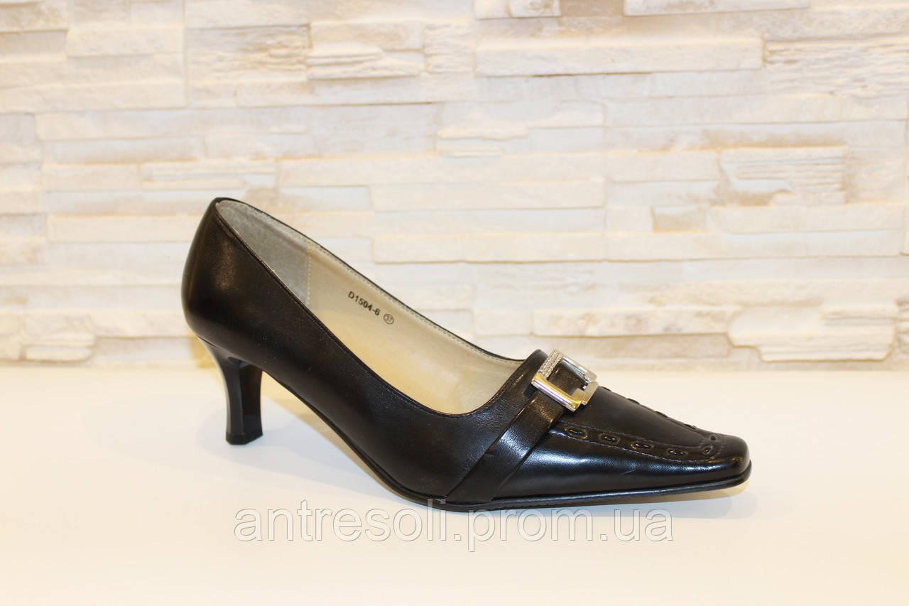 Туфли женские черные Т3 р 37 УЦЕНКА