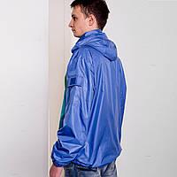 Куртка – ветровка со съемным капюшоном