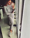 Женское модное теплое платье под горло (3 цвета), фото 2