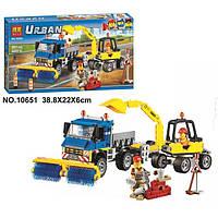 Конструктор Bela 10651 Urban City Уборочная техника (аналог Лего)