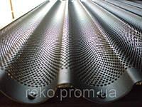 Противни алюминиевые волнистые с перфорацией и тефлоновым покрытием 600х400 мм