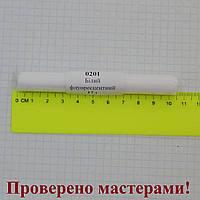Полимерная глина Пластишка, цвет белый флуоресцентный 17 г.