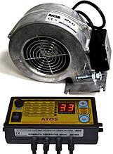 Автоматика Atos c вентилятором X2 для твердопаливного котла