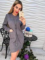 Женское модное платье прямое кроя (3 цвета), фото 1