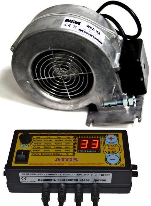 Автоматика Atos и вентилятор X2