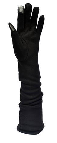 Длинные женские перчатки, длина перчаток около 45см, фото 2