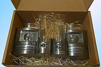 Набор подарочный, подарок мужчине, подарок автолюбителю, подарок боссу, стаканы, рюмки, «Поршень»