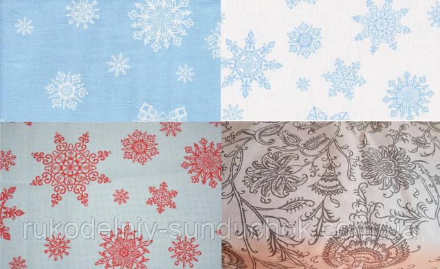 Поступление новой принтованной равномерной ткани для вышивки!