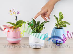 Музыкальный цветочный горшок-колонка TOKQI K3, фото 3