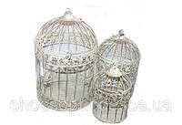 Декоративная клетка в стиле Шебби - шик набор 3 шт
