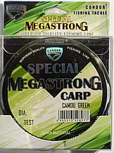 Рыболовная леска Кондор MegaStrong Special Carp CAMOU GREEN, 0,28мм, 300м