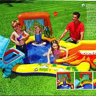 """Детский надувной центр """"Динозавры"""" Intex 57444"""