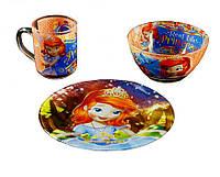 Купить набор детской посуды Принцесса София