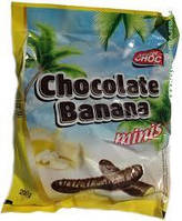 Конфеты шоколадные Chocolate Banana Mister Choc (с банановой начинкой) Австрия 200г