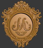 Герб декоративный моделирование