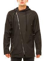 Куртка мужская с капюшоном, плащевка на трикотажной основе, куртка демисезонная 46