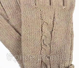 Женские трикотажные перчатки, фото 2