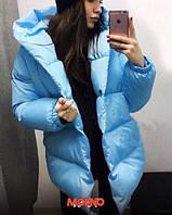 """Женская зимняя куртка """"Уголок"""", фото 1"""