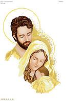 """Схема для вышивки бисером """"Святое семейство"""" золото 2015"""