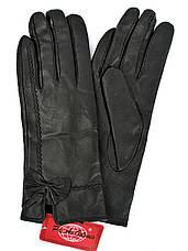 Женские кожаные перчатки на плюшевой подкладке, фото 3
