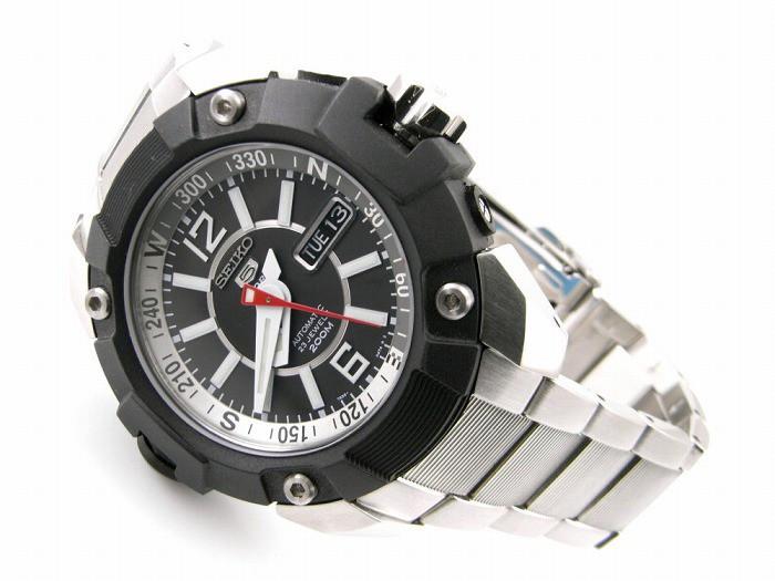Часы Seiko 5 Sports SKZ261K1 Automatic Map Meter 7S36