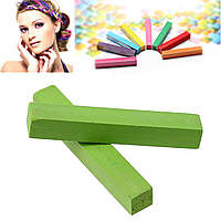 Мел для временной покраски волос, Зелёный, 65 мм x 10 мм