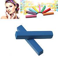 Мел для временной покраски волос, Тёмно-синий, 65 мм x 10 мм