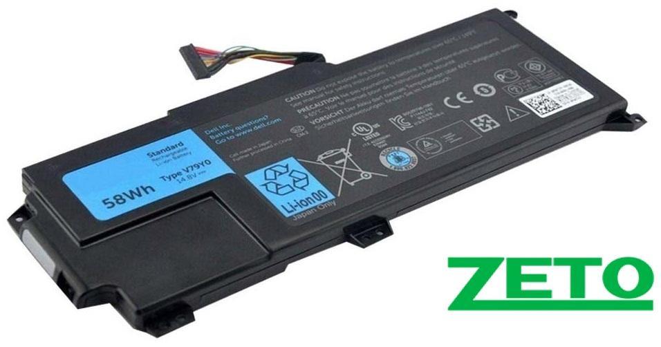Батарея (аккумулятор) Dell XPS L511Z (14.8V 4400mAh)