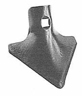 Лапа культиваторная, производство-Италия: 105х4
