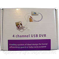 Регистратор DVR USB 4 канала