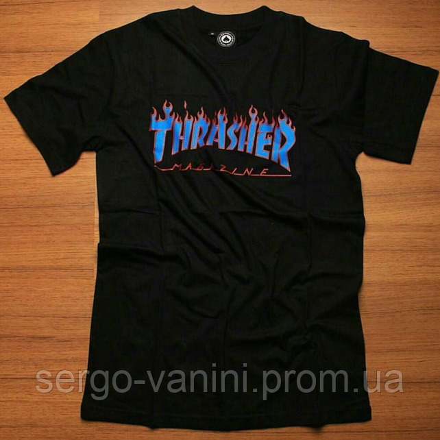 Футболка мужская Thrasher | Бирка ориг. | Топовый трешер