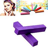 Мел для временной покраски волос, Фиолетовый, 65 мм x 10 мм