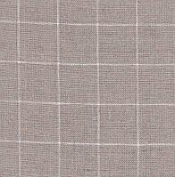 Ткань равномерного переплетения Zweigart Belfast Carre 32 ct. 7666/3709 (натуральный лён в белую клетку)