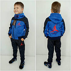 Детский теплый костюм на мальчика AIR начес, электрик, р.104-170