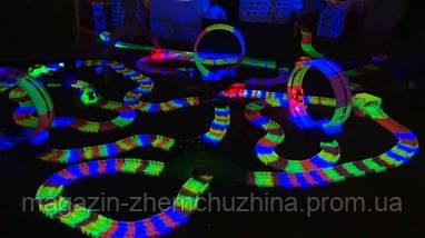 Гоночный светящийся Трек Magic Tracks 220 деталей!Опт, фото 2
