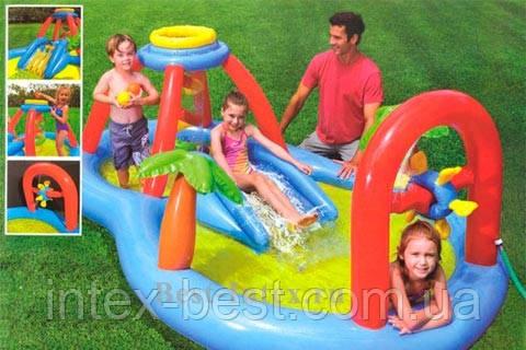 Детский надувной игровой центр Intex 57449 (295х193х107 см.)
