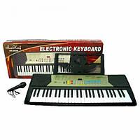 Пианино SK 2028 (6шт) 54 клавиши, 100 тонов и ритмов, микрофон, на бат-ке, в кор-ке, 83-36-13см