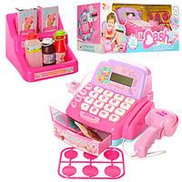 Игровой детский Кассовый аппарат с звуковыми эффектами 35505 для девочки