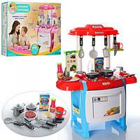 Кухня WD-B18 (8шт) 50-31-63см,плита,духовка,посуда,звук,свет,на бат-ке, в кор-ке, 43,5-59,5-9,5см