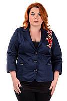 Женский пиджак Цветок, фото 1