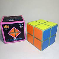 Кубик Рубика 2х2 Moyu luminous, светонакопительный пластик
